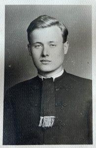 Jókay-Ihász Lajos, 1942-es érettségi fotója